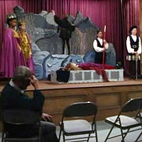 "In the episode ""The Play's the Thing"", what play was Mr. Feeny's class doing?"