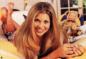 When Topanga gets really stressed, which eye twitches?