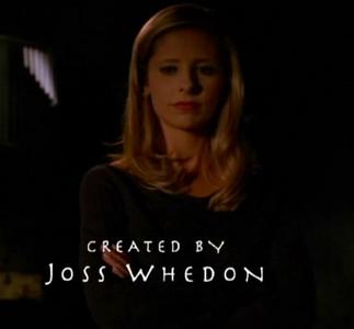 True o False: Every season's opening Credits end with a shot of Buffy