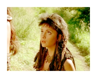 What was the name of the character Shiri played in Xena: Warrior Princess?