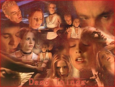 "In ""Dead Things"" How many times did Buffy stake Spike in this epsiode in her dilusion stage of thinking killing Katrina in the woods?"
