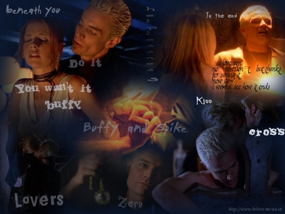 In Which Three episodes did wewe see Buffy cried about Spike?