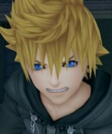 What is the newist game called with roxas in?
