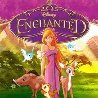 When was the principal photography of Enchanted started.