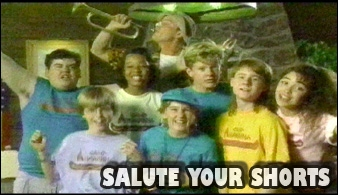 """What year did """"Salute Your Shorts first air"""