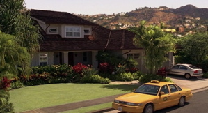 What's the address of the প্রথমপাতা Kate, Jack and Aaron have all lived at for a time back in L.A?