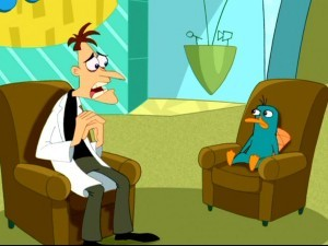 What episode was Perry's first mission in?