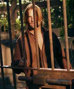 Ben kept an eye on Kate, Sawyer and Jack when they were locked up at the Hydra. Which number monitor was fixed on Sawyer&#39;s cage?