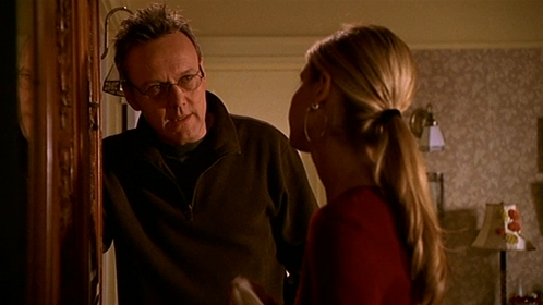 "In ""First Date"" What Did Giles dicho that Willow dicho the same thing to Buffy about Spike?"