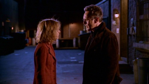 "In ""Showtime"" Whos fault was it that made Anya think what the oracle dicho about Buffy reliving again?"