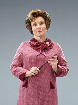 Is it true that when Harry has to write lines for Umbridge in book 5, it's written in his own blood?