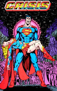 "Who was the writer of ""Crisis on infinite Earths""?"