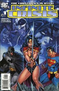 "Who was the writter of ""Infinite Crisis""?"