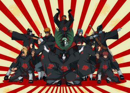 Who is the blue-haired character in akatsuki?
