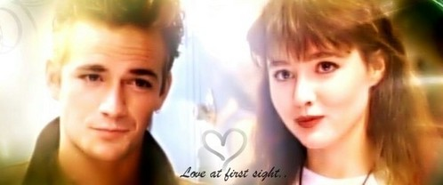 True or False: In S1 Dylan&Brenda exchanged the big 'I Love U' & they 'Made Love' for the 1st time?