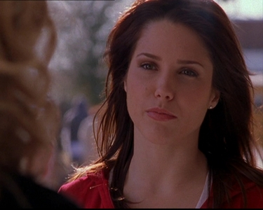 Brooke : Why don't I just smile at you...you know Peyton-style, pretend everything's okay and _______________.