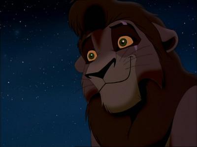 Who gives Kovu his Scar??
