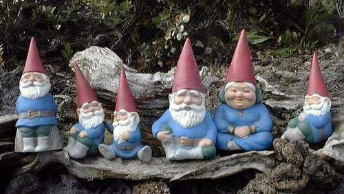The FIRST Garden Gnomes were made in __________