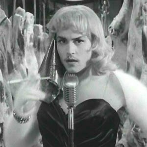 How did Ed Wood loose his teeth?