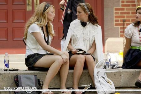 Serena: B, what are Du doing? Blair: Giving Home schooling some serious consideration. From which episode?