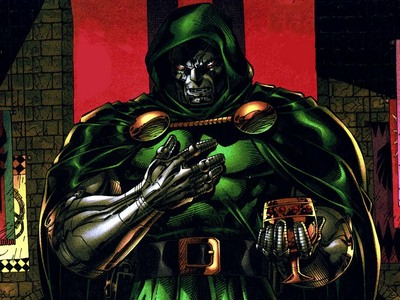 who was the person that gave dr.doom's 1st armor