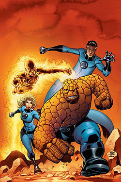 marvel question:who is invisible woman & mr.fantastic's son