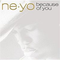 "Which hit song is not on its album ""Because of You"""