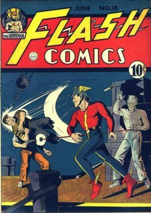 what number is this flash comic