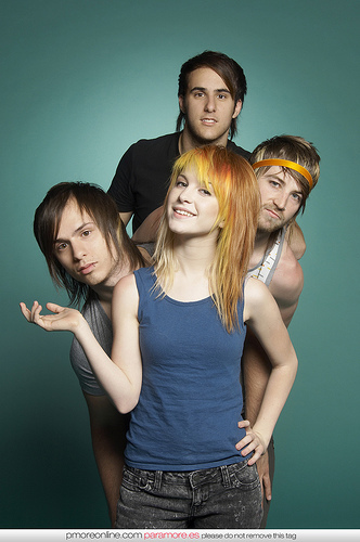Which Paramore song is a cover from a band called Failure?