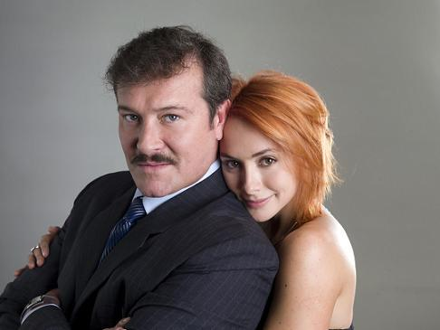 Arturo Peniche and Andrea Lopez played father and daughter in Zorro. In Victoria they played ...