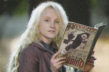 What is Luna Lovegood's nickname?