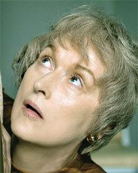 "How many characters did Meryl play in the HBO mini-series ""Angels in America""?"