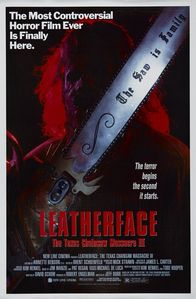 "Who played Leatherface in ""Leatherface: The Texas Chainsaw Massacre 3"""