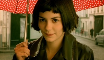 OCCUPATIONAL HAZARD: The whimsical Amélie Poulain enjoys playing matchmaker and guardian malaikat in 'Amélie.' When she's not helping others, how does she earn a living?