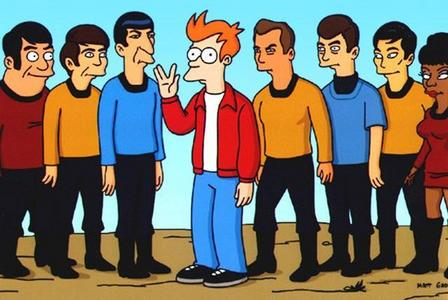 Who is the ULTIMATE Star Trek fan, who hijacked the ship containing the heads of the cast of the show?