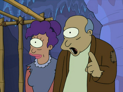 What does the note found with Leela when she was abandoned say?