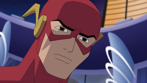 What is The Flash's real name?