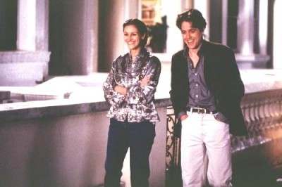 OCCUPATIONAL HAZARD: 'Notting Hill' supposes that even ordinary people can find love with a celebrity. What normal job does Will Thacker have when he meets Anna Scott?