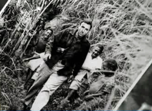 """The picture of Dr. Lightman, in 'A Perfect Score' is modified from a picture taken on a 1930 expedition to New Guinea, as documented in the 1983 documentary, """"_____ _____"""""""