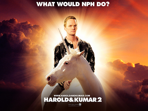 "Does NPH as ""Neil Patrick Harris"" live or die in ""Harold & Kumar Escape from Guantanamo Bay""?"