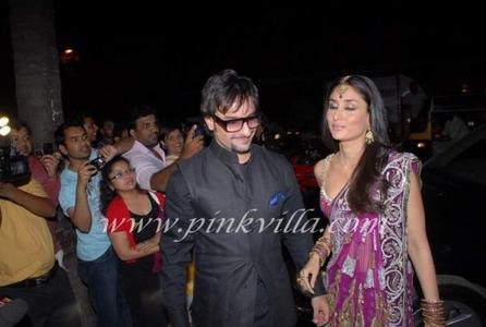 true or false: Saif and Kareena are dating?