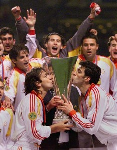 When was Galatasaray win UEFA?
