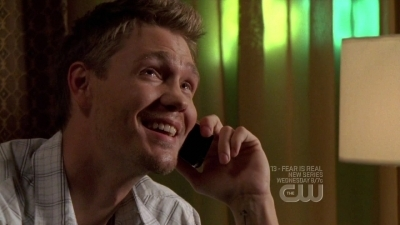 When Peyton tells him they're pregnant, what Lucas replied ?