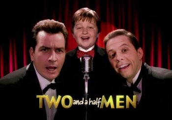 "He told Alan in 'Two and a half men' to talk to someone on the phone instead of him, motivating that: ""You got ________________ balls than I do!!"""
