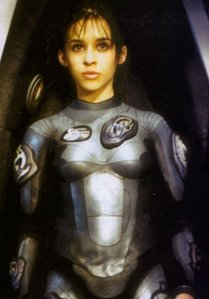What gift did Matt LeBlanc give to Lacey at the end of filming of Lost in Space?