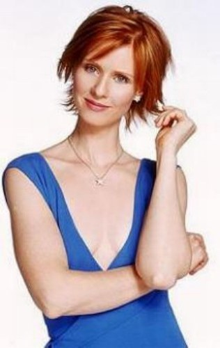 true or false cynthia nixon 39 s a k a miranda hobbes real hair color is red the sex and the. Black Bedroom Furniture Sets. Home Design Ideas