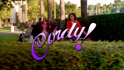 "On the television show ""Cordy,"" what was the name of Cordy's suitor who brought flowers?"