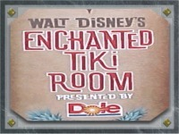 In Disneyland, what was the 魔法にかけられて Tiki Room originally conceived as being before making it an attraction?