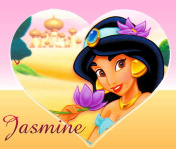 What word did the Genie NOT suggest to aladdín to use to compliment Princess jazmín with?
