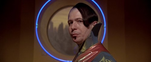 Who is the first person in the movie to call Zorg?